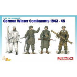 Cod.dra6705 GERMAN WINTER COMBATANTS 1943-1945 Esc.1/35
