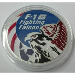 MEDALLA-MONEDA (COIN) F-16 FIGHTING FALCON