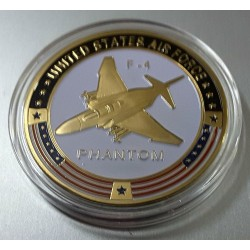 MEDALLA MONEDA F-4 PHANTOM II US. AIR FORCE 6b5cc422a68