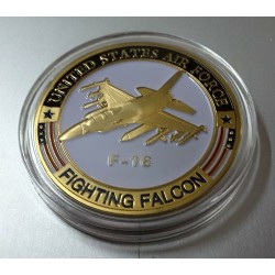 MEDALLA/MONEDA F-16 US. AIR FORCE (2)