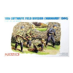 Cod.dra6084 16th LUFTWAFFE FIELD DIVISION, NORMANDIA 1944 Esc.1/35
