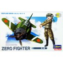 Cod.has60118 SERIES EGGPLANE ZERO FIGHTING Esc.S/E