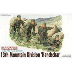 "Cod.dra6067 13th MOUNTAIN DIVIDION ""HANDSCHAR"" Esc.1/35"