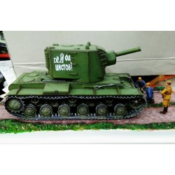 DIORAMA  KV-1 (BIG TORRET) Esc.1/48