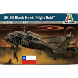 "Cod.ita1328 UH-60 BLACK HAWK ""NIGHT RAID"" Esc.1/72"