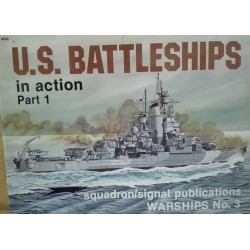 U.S. BATTLESHIPS IN ACTION Part. 1, Ed. Squadron signal