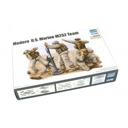 Cod.tru423 TEAM MORTEROS M252 US. MARINES Esc.1/35