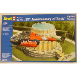 "Codrev4906 MBB BO 105 ""35th ANNIVERSARY OF ROTH"" FLY OUT VERSION Esc.1/32"