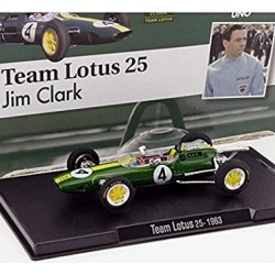 FORMULA 1 TEAM LOTUS 25 JIM CLARK. ESC 1/43