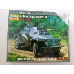 COD. ZVZ6157 SD.KFZ.222 ARMORED CAR. ESC 1/100