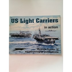 US LIGHT CARRIERS. Squadron/Signal publications